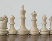 Classic Staunton Chess sets on etsy handmade hand carved Staunton Chess Sets, club size chess sets, custom themed chess sets