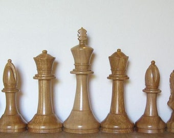Staunton Chess Set on etsy hand carved custom chess pieces chess sets chess tables