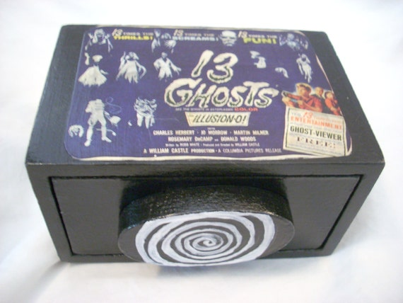 13 Ghosts Classic Horror Small Jewelry Box With Drawer