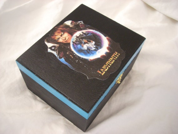Labyrinth Keepsake Jewelry Trinket Box