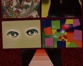 50% off- Set of 5 Art Postcards