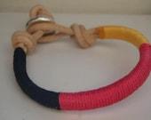 Tricolor Yellow Bracelet