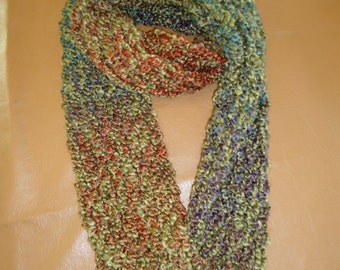 Infinity, Endless, continuous crochet Scarf