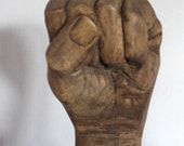 Carved Wood Fist