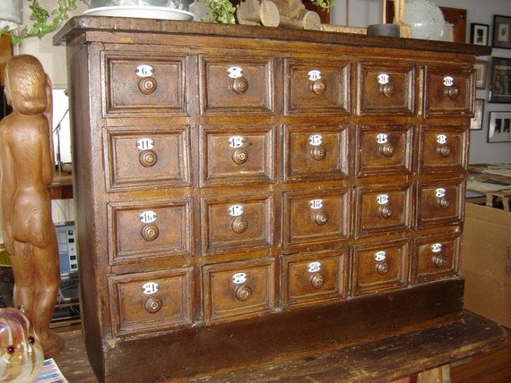apothecary chest of drawers 87908