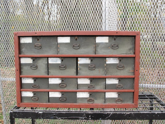 15 Drawer Industrial Cabinet