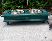 Popular Items For Raised Dog Bowl On Etsy