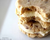Reese's Peanut Butter Cookie Sandwiches, Rustic Favors, Food, Homemade, 1 Dozen (12) by Ploctopia