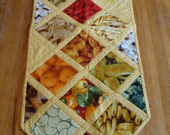 Quilted Table Runner, Farm Fresh SALE
