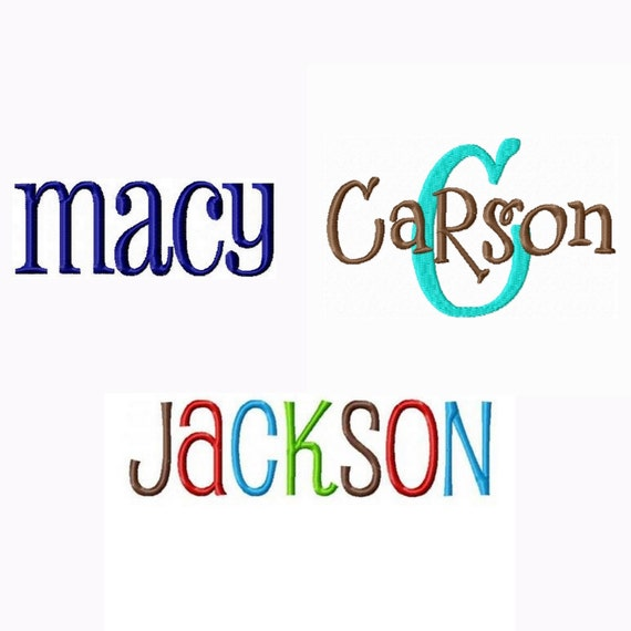 Instant download embroidery font triple pack pharmacy