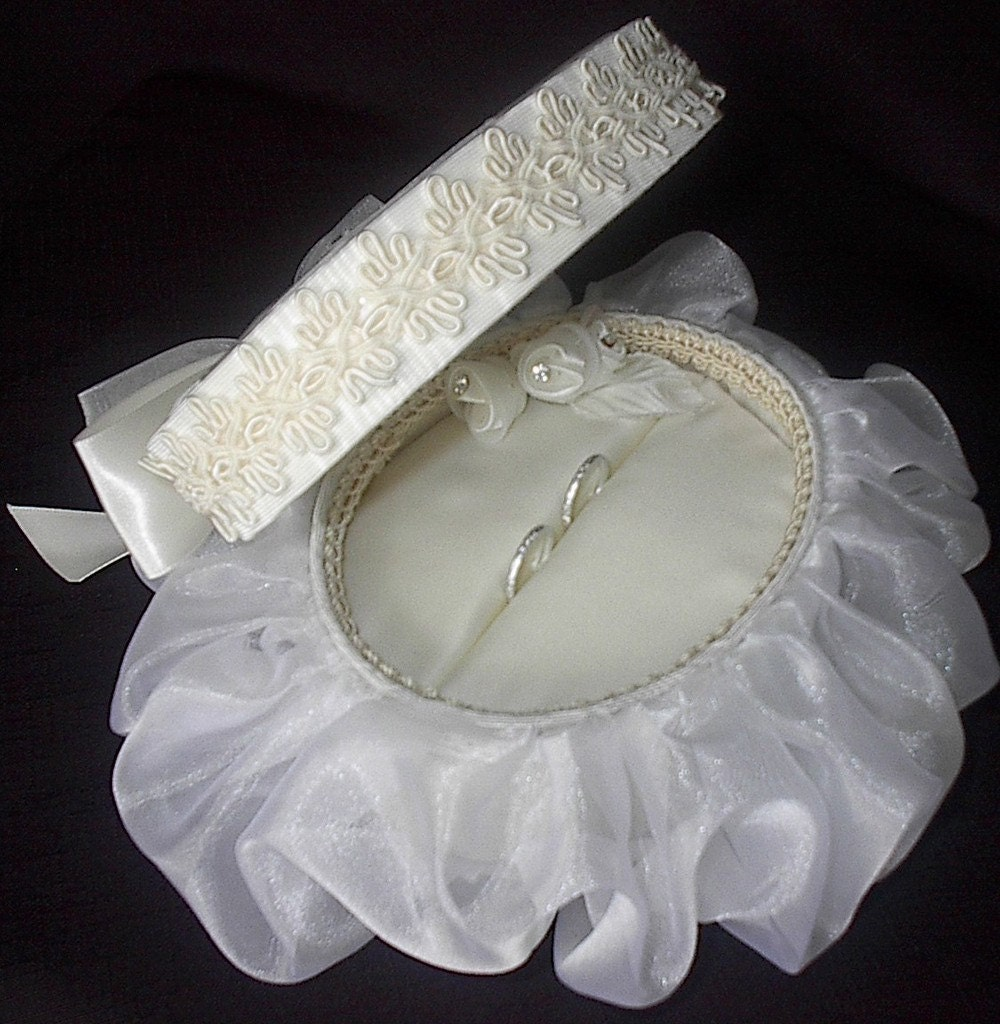 Unavailable listing on etsy for Custom made ring box