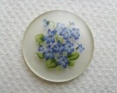 Vintage Forget-Me-Not Cabochons 35mm (1) CAB40