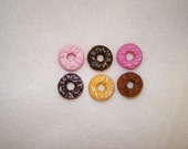 Tiny Donut Multicolor Cabochons