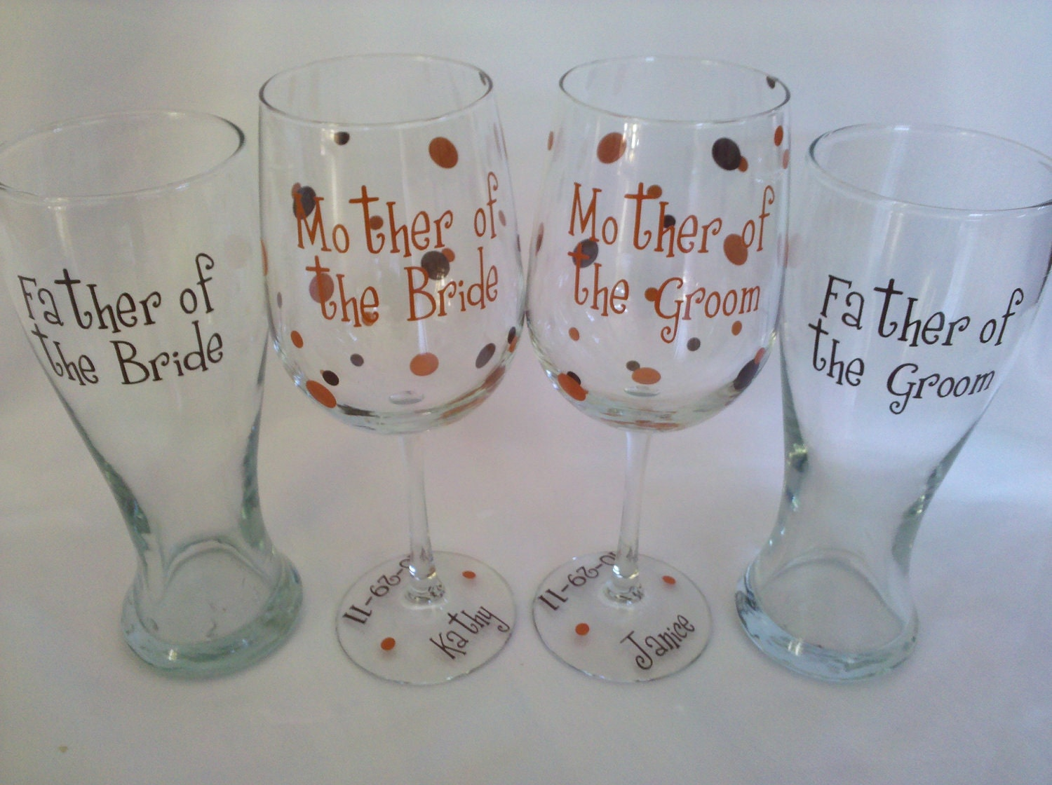 Wedding gifts for parents of the bride and by WaterfallDesigns