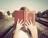 Hidden Books - 8x10 Original Photograph