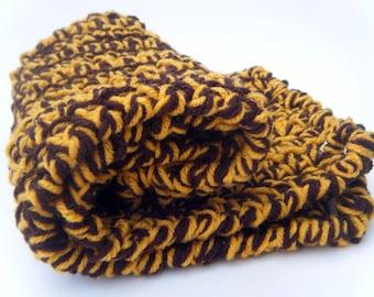 Crochet Cat Mat- Giraffe Print Pet Bed
