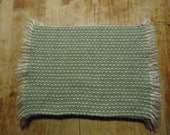 Special Order Place mats for Eric - Handwoven - Sage Green set of 8