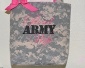 Proud Army Wife Purse