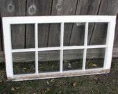 Eight Pane 1920 Vintage Window