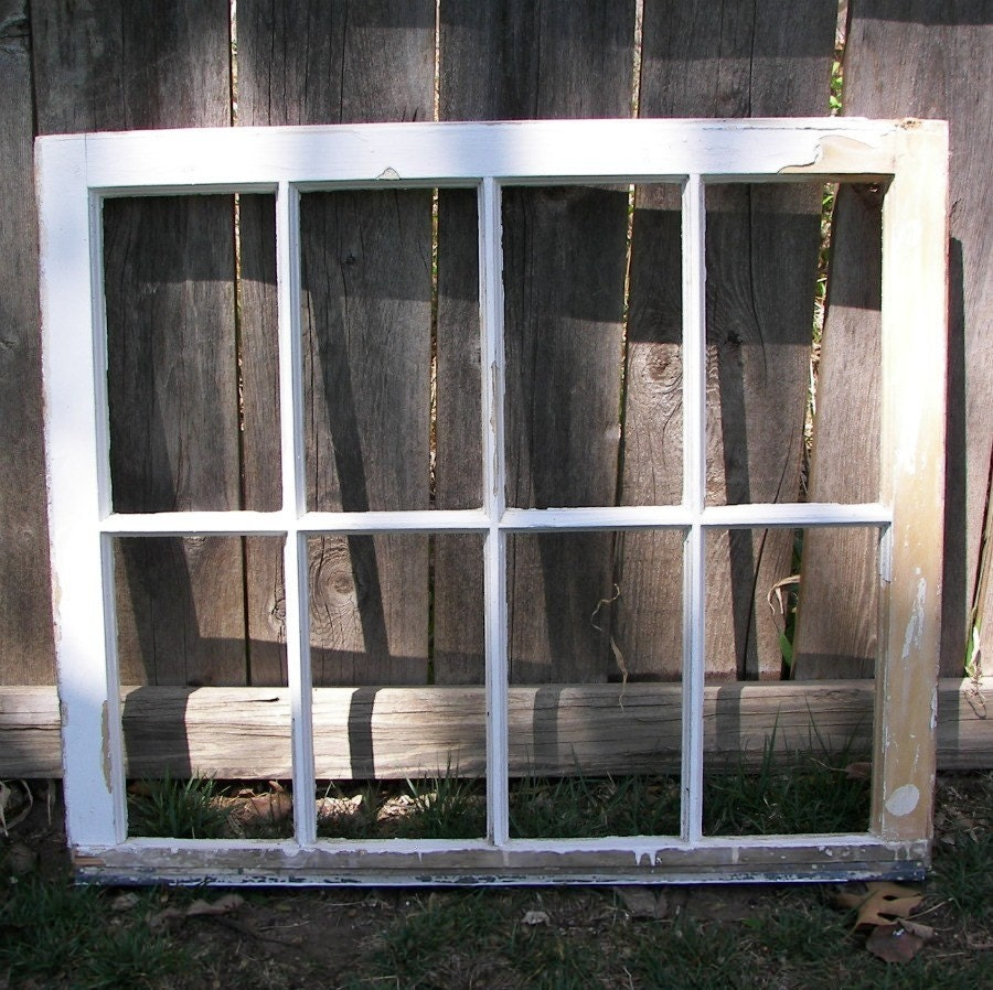 1920 vintage window frame without glass