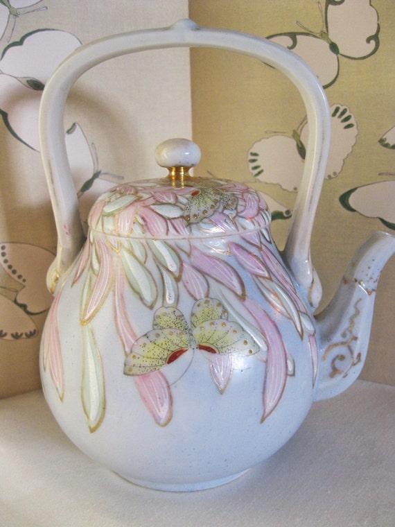 Handpainted Porcelain Teapot