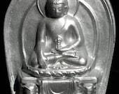 Zen BUDDHA Lucky Buddah BUDDHIST Temple ICON Statue