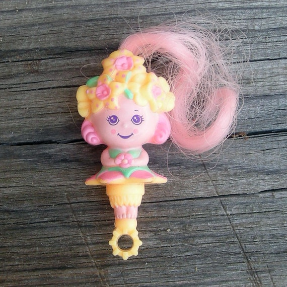 Bubblins Flower Girl bubble wand doll toy Tiny