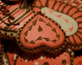 Exquisite Valentine's Cookies