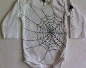 Halloween onesie, organic cotton