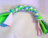 CROWN KNOT ROPE Toy, Fleece Toy With Knotted Rope Ends