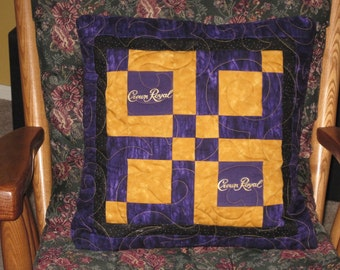 Crown Royal Throw Pillow