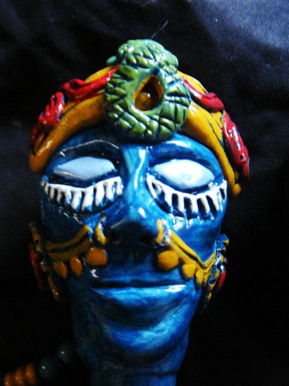 Ix Chel Mayan Moon Goddess Prayer Stick