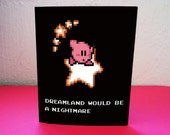 kirby's adventure Valentine's Day Love Printable Card
