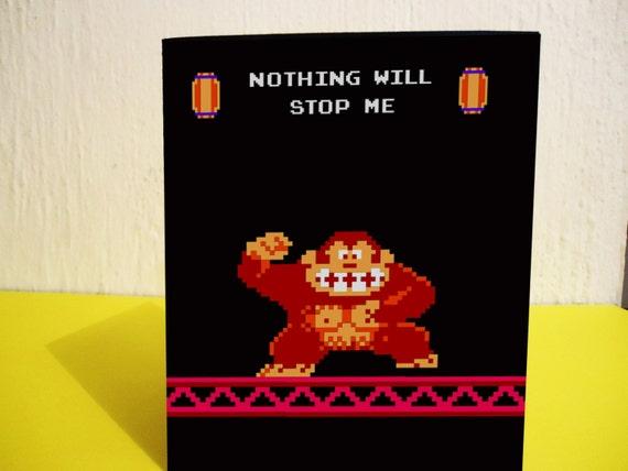 Donkey Kong Valentine's Day Printable Card