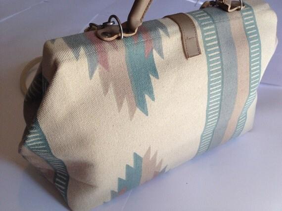 vintage southwestern ethic messenger bag 1970