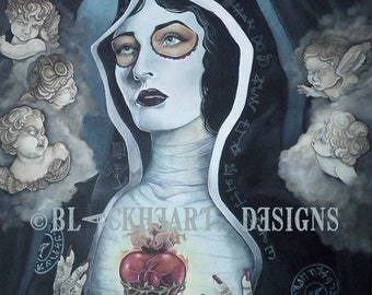Santaria 24x30 Giclee Canvas Print