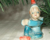 Vintage pixie, elf, fairie figurine  Japan.  Cont US shipping inculded