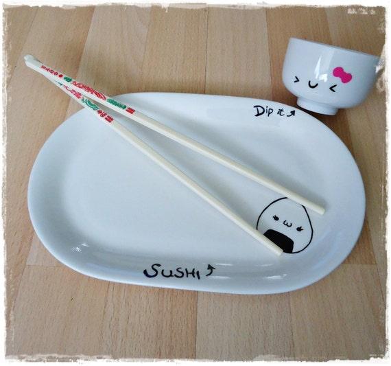 Kawaii Sushi Plate