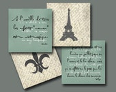 Shabby Chic Mom Collection: Set of (4) 5x5 prints, Buy 3 Get 1 Free