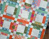 Quilt Pattern - Easy & Quick - Grandma Mary's Five Patch by Sweet Jane