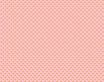 3/4 Yard Only - Riley Blake Designs Happier by Denna Rutter. 100% cotton pattern C5505 Pink - Happier - Dots