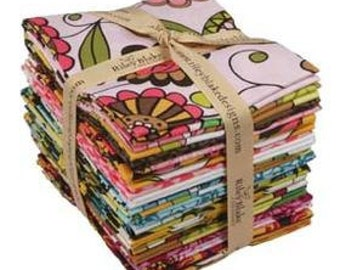 Lola's Posies - Fat Quarter Bundle (22) - by Lila Tueller Designs for Riley Blake Designs - Entire Collection