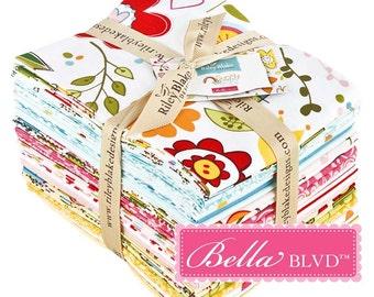 Sunny Happy Skies by Bella Blvd for Riley Blake - Fat Quarter Bundle 22 Items