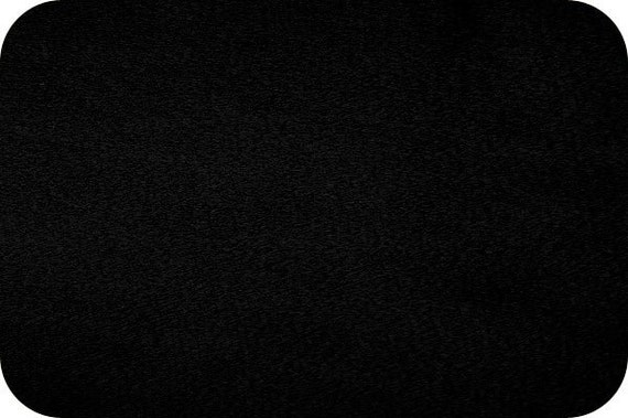 Cuddle Minky from Shannon Fabrics - C3 Black