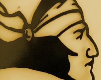 Southwest,Metal Art,Tribal,Motorcycle,Wall Decor,Tattoo,Home Decor