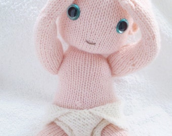 a pattern to knit this cute baby and nappy