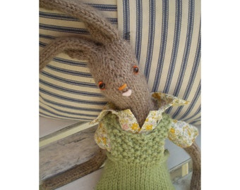 SPECIAL SPRING OFFER - Knitted Hare pattern - Ernest Field