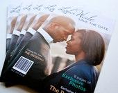 Wedding Invitation - Magazine Save-The-Date