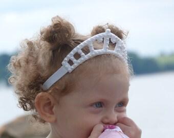Princess Tiara Headband - Pretty in Pearls