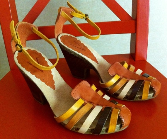Ankle Strap Vintage Heels By Vince Camuto